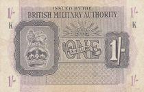 Royaume-Uni 1 Shilling ND1943 - Série K