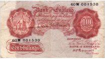 Royaume-Uni 10 Shillings ND1934-39 - Sig Peppiatt