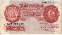 Royaume-Uni 10 Shillings ND1934-39 - Sig Peppiatt