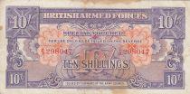 Royaume-Uni 10 Shillings ND1946 - Série B/3