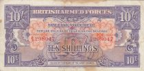 Royaume-Uni 10 Shillings ND1946 - Série B/3