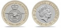 Royaume-Uni 2 Pounds 2018 - Badge de la Royal Air Force - Bimétal