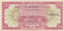 Royaume-Uni 2 Shillings 6 Pence ND1946 - Série D/1