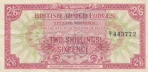 Royaume-Uni 2 Shillings 6 Pence ND1946 - Série D/1