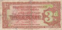 Royaume-Uni 3 Pence ND1948 - Marron