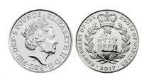 Royaume-Uni 5 Livres Elisabeth II - 100 ans de la Maison des Windsor 2017