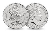Royaume-Uni 5 Livres Elisabeth II - Lion 2017
