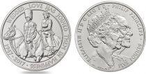 Royaume-Uni 5 Livres Elisabeth II - Noces de Platine -2017