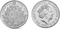 Royaume-Uni 5 Livres Elisabeth II - Sapin de Noel -2017