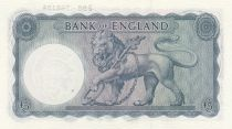 Royaume-Uni 5 Pounds Britannia, St George, dragon - ND (1961) - P.62 Neuf