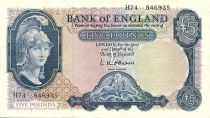 Royaume-Uni 5 Pounds Britannia, St George, dragon