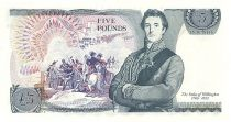 Royaume-Uni 5 Pounds Elisabeth II - Duc de Wellington