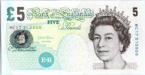 Royaume-Uni 5 Pounds Elisabeth II - Femmes et enfants - 2012