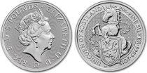 Royaume-Uni 5 Pounds Elisabeth II - Licorne - 2 Once Argent 2018