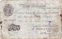 Royaume-Uni 5 Pounds Noir - Londres
