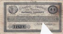 Royaume-Uni 5 Pounds Stamford Spalding and Boston Bank - 1898 - TB - L.2839