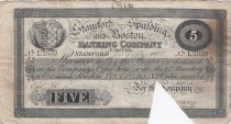 Royaume-Uni 5 Pounds Stamford Spalding and Boston Bank - 1898 - TB - L.2839