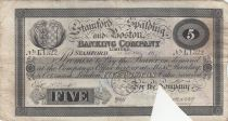 Royaume-Uni 5 Pounds Stamford Spalding and Boston Bank - 1899 - TB - L.1322