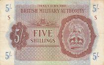 Royaume-Uni 5 Shillings ND1942 - Série S