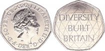 Royaume-Uni 50 Pence - Elisabeth II - Diversité - 2020 - SPL