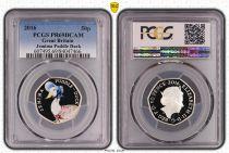 Royaume-Uni 50 Pence 2016  - Jemina puddle Duck - PCGS PR 69