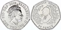 Royaume-Uni 50 Pence Sherlock Holmes - 2019 - SPL