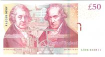 Royaume-Uni 50 Pounds Elisabeth II - M. Boulton - James Watt - 2010 - Neuf