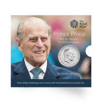 Royaume-Uni £5 BU Pièce - Renoncement Prince Philip - 2017