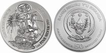 Ruanda 50 Francs  Endeavour - Silver Oz 2018