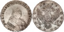 Russian Federation 1 Rouble Elizabeth - Eagle  - 1749 MOSCOW