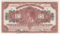 Russian Federation 100 Rubles Indochina Vladivostok - 1919 Specimen - aUNC - P.S1258