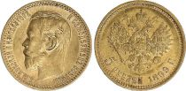 Russian Federation 5 Rubles, Nicolas II - Eagle 1899 - Gold