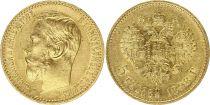 Russian Federation 5 Rubles Gold Nicolas II - Eagle 1898 St Petersburg