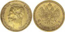 Russian Federation 5 Rubles Gold Nicolas II - Eagle 1900 - St Petersburg