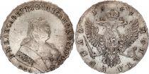 Russie 1 Rouble Elizabeth - Aigle  - 1749 MOSCOU