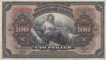 Russie 100 Roubles Agriculture - Aigle Impérial - 1918 - SUP + - 4ème  ex