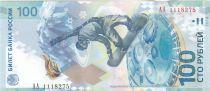 Russie 100 Roubles JO de Sotchi - 2014 Polymer