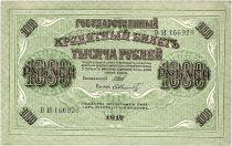 Russie 1000 Roubles La Douma - 1917