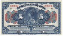 Russie 5 Roubles Indochine Vladivostok - 1919 Spécimen - Neuf