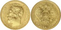 Russie 5 Roubles Or , Nicolas II - Aigle 1898 St Petersbourg