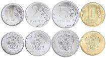Russie Série de 4 monnaies - 2016