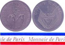 Rwanda 1 Franc - 1977 - Essai