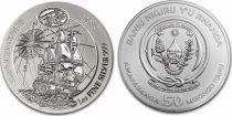 Rwanda 50 Francs  Endeavour - Silver Oz 2018