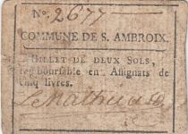 Saint-Ambroix Commune - Juillet 1791