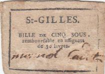 Saint-Gilles Commune - Octobre 1792