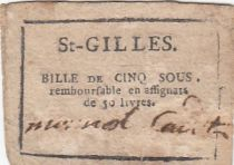 Saint-Gilles Commune - Octobre 1792