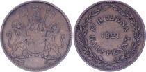 Saint Helena 1/2 Penny - St Helena and  Ascension - 1821 - VF  - KM.A4