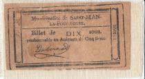 Saint-Jean-La-Fouillose City  - 1792 - False note ?