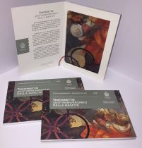Saint-Marin 2 Euros 2018 - Tintoretto - Bimétal en folder