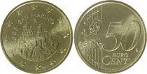Saint-Marin 50 centimes Forteresse - 2008